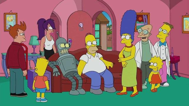 Futurama Meets The Simpsons | Season 26 Ep. 6 | THE SIMPSONS