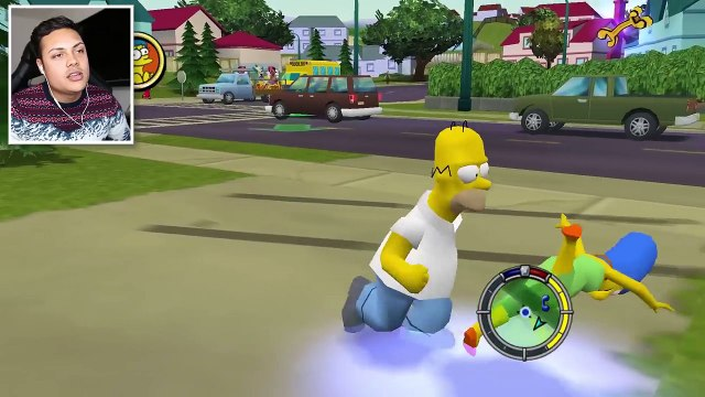 The Simpsons The Official Video Game (Simpsons Hit and Run)
