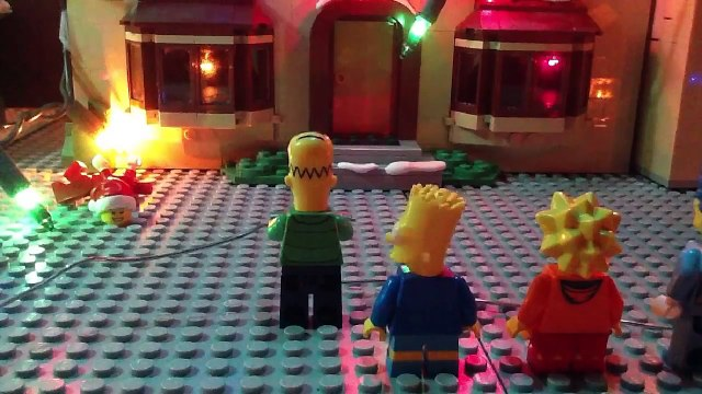 Lego Simpsons Shorts Episode 5: We Wish You A Simpson Christmas (Simpsons Christmas Special)