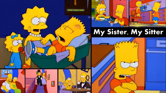 60 Second Simpsons Review - My Sister, My Sitter