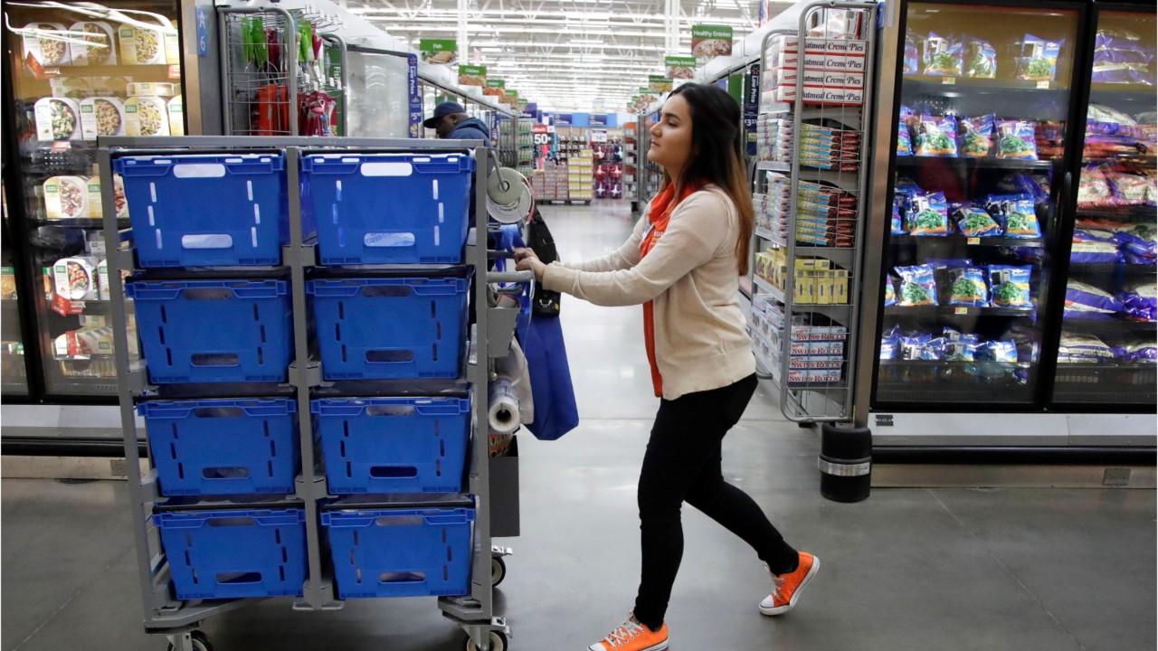 Walmart Profit Drops, Online Sales Growth Slows