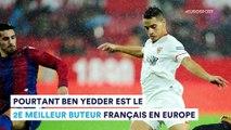 Où est Ben Yedder dans la hiérarchie des attaquants français ?