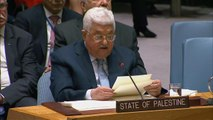 Palestinian leader Mahmoud Abbas calls for International Mideast peace conference