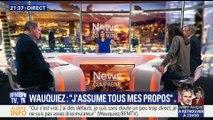 Propos polémiques: Laurent Wauquiez assume tous ses propos (2/2)