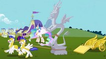 Stone Discord Arrives To Ponyville (Keep Calm and Flutter On) | MLP: FiM [HD]