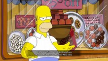 The Simpsons Game Walkthrough Part 1 - 100% (X360, PS3, PS2, Wii, PSP) The Land of Chocolate