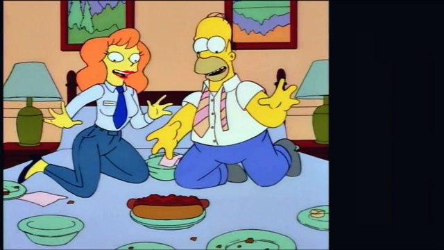 Simpsons Showdown!  Colonel Homer vs. The Last Temptation of Homer