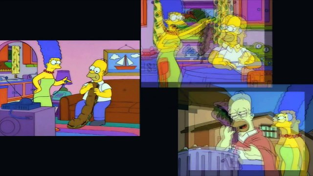 Simpsons Showdown!  Selma's Choice vs. Itchy & Scratchy Land
