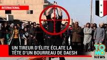 Un tireur d'élite éclate la tête d'un bourreau de Daesh en train d'enseigner la décapitation