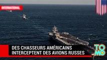 USS Ronald Reagan : des chasseurs américains interceptent des avions russes près de la Corée