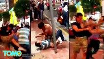 Bagarre : un Chinois et un Japonais se battent pour un taxi à Hong Kong