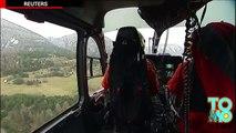 Germanwings crash en France. La boite noire avec des enregistrements a été retrouvée