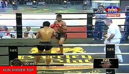 Dum Keoda vs Denpichhit(thai), Khmer Boxing Seatv 11 Feb 2018, Kun Khmer vs Muay Thai