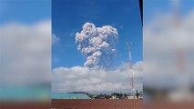 Asche und Glut: Vulkanausbruch in Indonesien