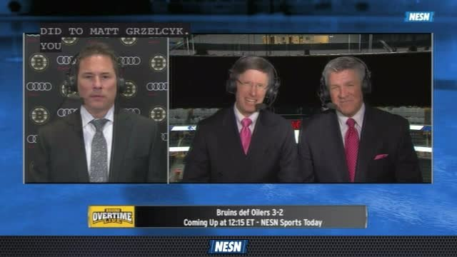 Bruins Overtime Live: Bruce Cassidy Pleased With Bruins Persistent In 3rd Period Comeback Win Over Oilers