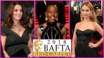 BAFTA 2018 RED CARPET : Margot Robbie, Kate Middleton | 71st British Academy Film Awards