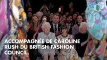 PHOTOS. La reine Elizabeth II avec Anna Wintour à la Fashion Week