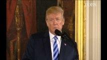 """Armes : sous la pression post-fusillade en Floride, Trump veut interdire les """"bump stocks"""""""