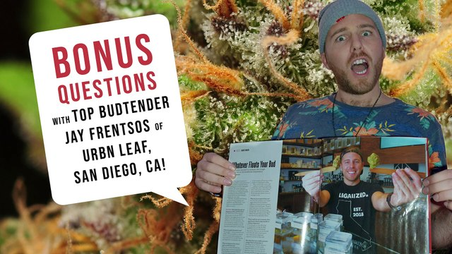 How to get started in the Cannabis Industry - Top Budtender Jay Frentsos has all the tips