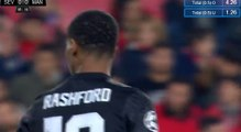 Marcus Rashford Super Chance HD - Sevilla 0-0 Manchester United 21.02.2018