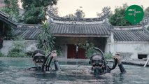 Diving School in an Ancient Chinese Home