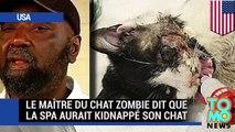 Le maître du chat zombie dit que la SPA aurait kidnappé son chat