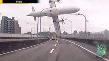 CATASTROPHE AÉRIENNE - Écrasement d'avion à Taipei (04/02/2015) : au moins 9 morts et 10 blessés!