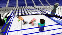 Minecraft Animation - Steve vs Connor MacGregor in Minecraft Monster School Animation in real life