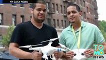 IN EXTREMIS: Un drone a faillit rentrer en collision avec un hélicoptère