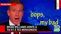 Menteur, menteur! Brian Williams ment pendant 12 ans et est enfin démasqué