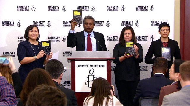 Amnesty: Top world leaders undermining human rights