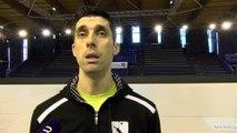 André Sa coach d'Istres Provence Volley
