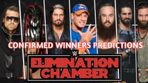 WWE Elimination Chamber Official Match Card | WWE Elimination Chamber 2018