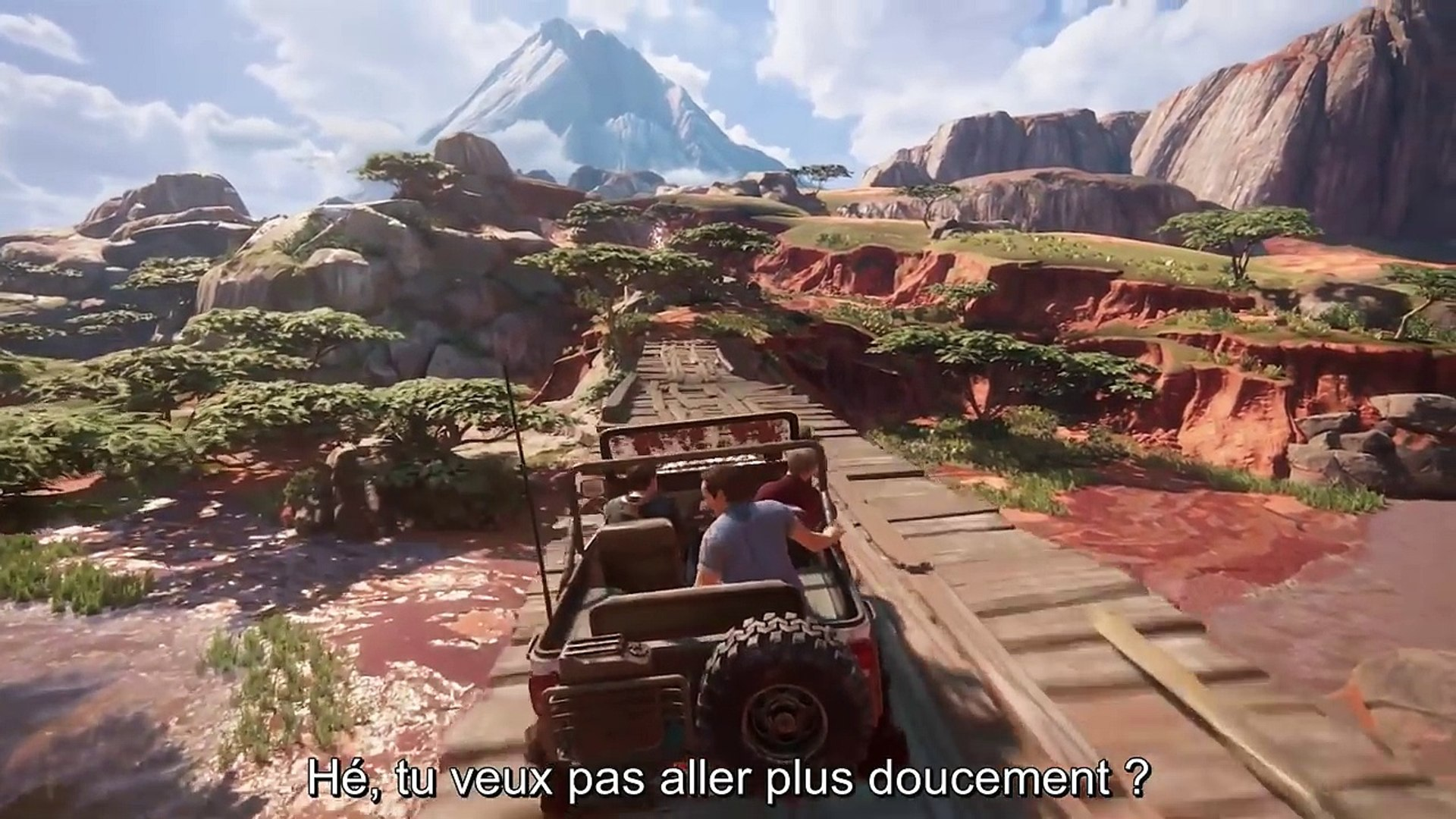 Uncharted 4 disponible sur PS4 - Gameplay Madagascar