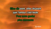 Karaoké A toutes les filles - Didier Barbelivien *