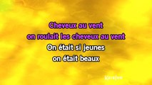 Karaoké Cheveux au vent - Sylvie Vartan *