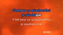 Karaoké Je ne suis pas un héros - Daniel Balavoine *
