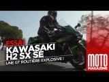 Kawasaki Ninja H2 SX SE - la Ninja sort ses griffes - Essai Moto Magazine