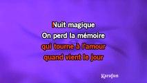 Karaoké Nuit magique - Lara Fabian *