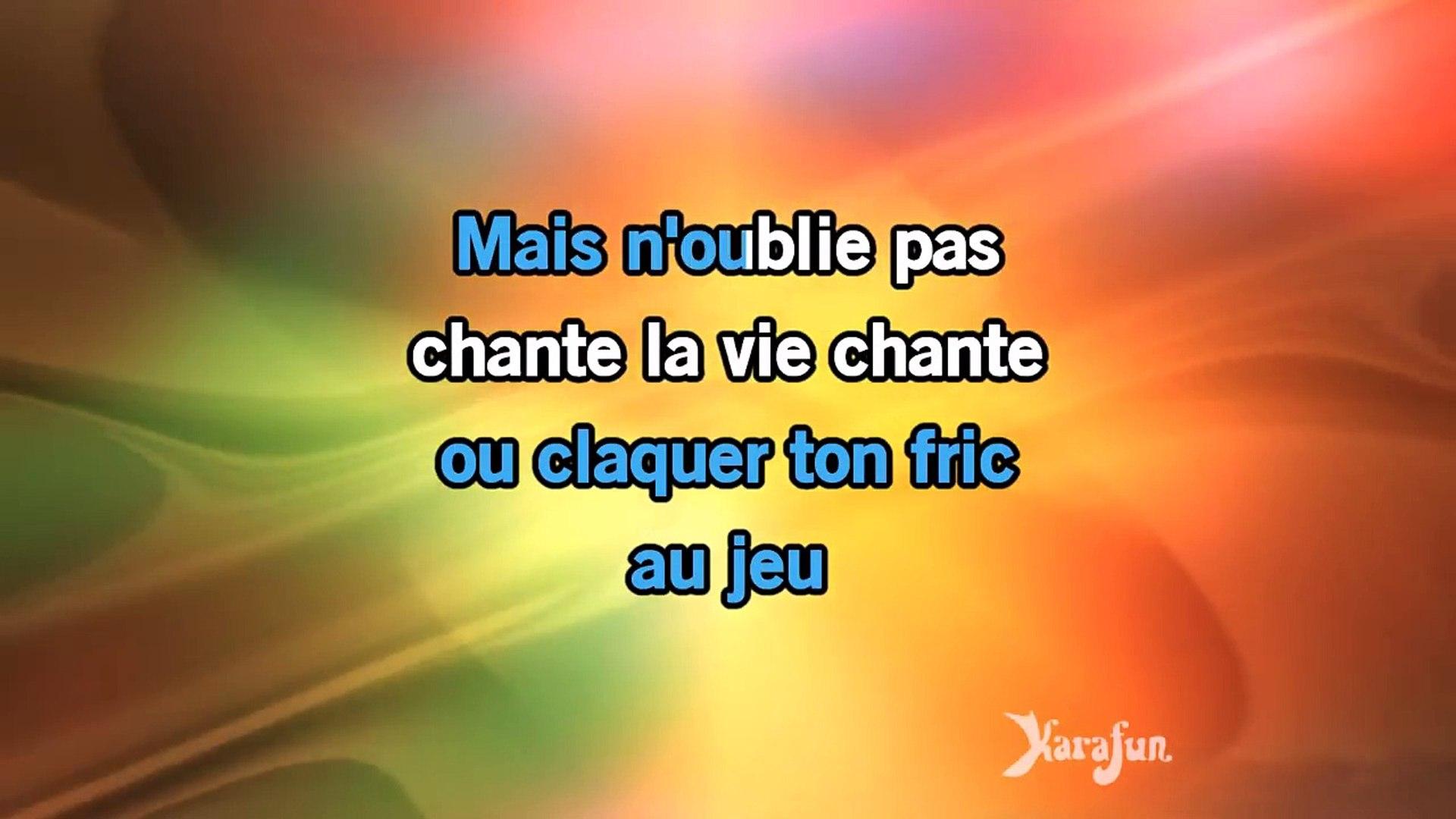 Karaoke Chante Michel Fugain Video Dailymotion