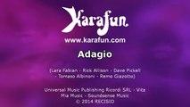 Karaoké Adagio - Lara Fabian *