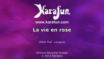 Karaoké La vie en rose - Dalida *