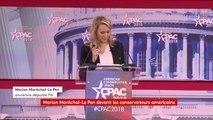 """Marion Maréchal-Le Pen : """"Nous devons faire connaitre notre idéologie aux médias et notre culture, pour stopper la domination des libéraux et des socialistes. C'est la raison pour laquelle j'ai lancé une école de sciences politiques."""" #CongrèsMaryland"""