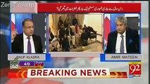 Supreme Court Ka Bara Faisla Aya Hai Kay Nawaz Sharif Ab Party Sadarat Bhi Nahi Sanbhal Saktay-Rauf Klasra