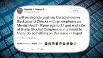 Trump Pledges To Raise Minimum Age For Gun Purchases to 21