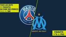 Tous les buts de Pauleta face à l'OM au Parc des Princes - Ligue 1 Legends