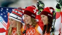Mikaela Shiffrin Wins Silver in Alpine Combined Slalom