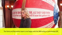 'Parks And Recreation' Team Slams NRA For Using Leslie Knope GIF | News Flash | Entertainment Weekly