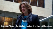 Interview d'Amaury Vassili avant la finale de l'Eurovision 2011