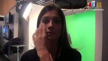 LeWeb 10 de France Télévisions : Miss météo France2 Tania Young sur le stand